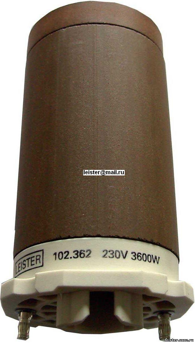 Тип нагревателя 38D1 - 230V/3600W для Hotwind S 102.362
